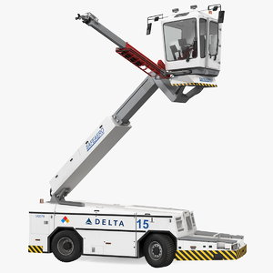 safeaero 220 deicing vehicle 3D