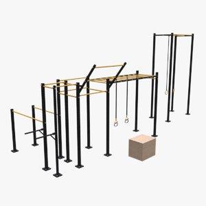 crossfit cage 3D model