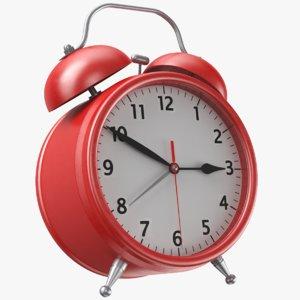 real alarm clock 3D model