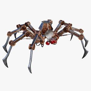 mechanized arachnid 3D model