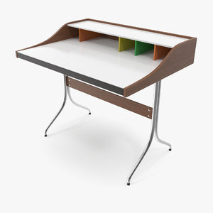 vitra home desk george nelson 3D model