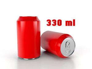3D beverage 330 ml