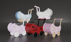 doll strollers baby carriage model