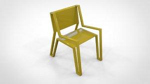 modern design chair furniture 3D model