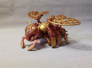 3D model collectible toy mechanical bee