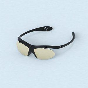 3D glasses design model
