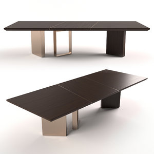 3D fendi casa morris table model