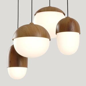 3D model pendant lights
