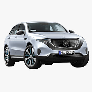2020 mercedes-benz eqc 3D