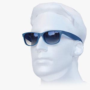 sunglasses new classic style 3D