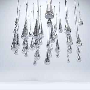 3D ceiling decorative item