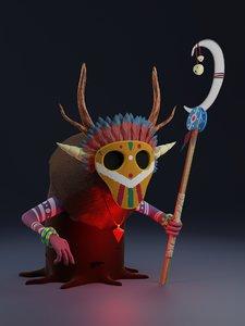 shaman 3D