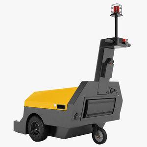 electric shopping cart model