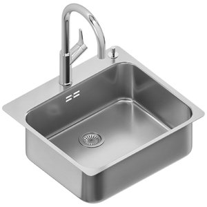 sinks blanco supra carena 3D model