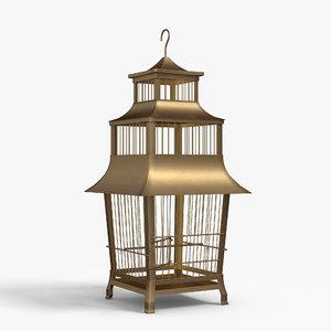 bird s cage 3D model