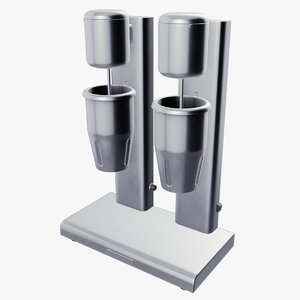 3D bar mixer model