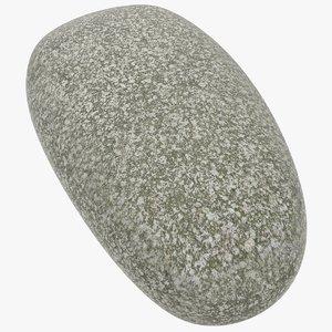 3D model stone rock granite