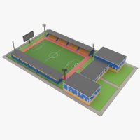 Lowpoly Stadium