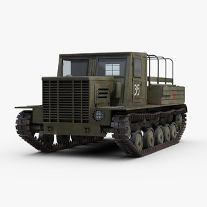 ww2 ya 12 artillery 3D model