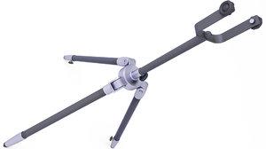 tripod stand 3D model