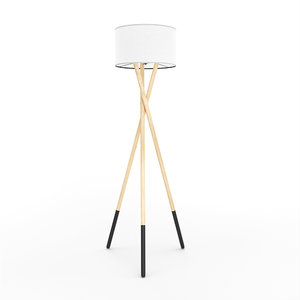 3D model harper - tripod floor lamp