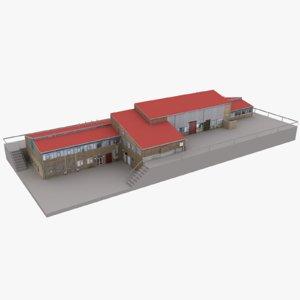 european building 18 3D model