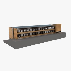 european building 19 3D model