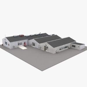 european building 16 3D