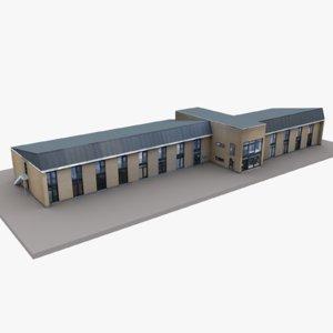 3D european building 21