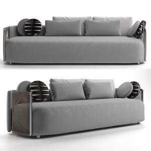 fendi casa sofa 3D model