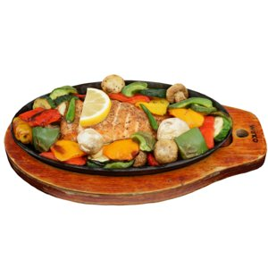 salmon seafood fish 3D