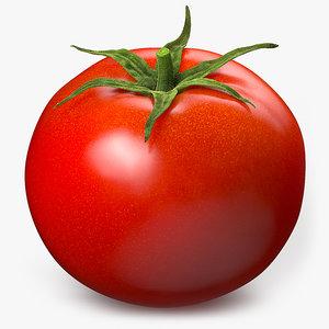 3D tomato food