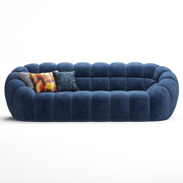 Perspective Roche Bobois Sofa 3d, Roche Bois Furniture