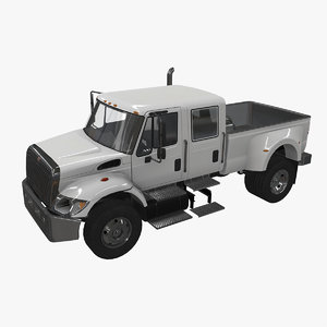 navistar monster truck cxt 3D model
