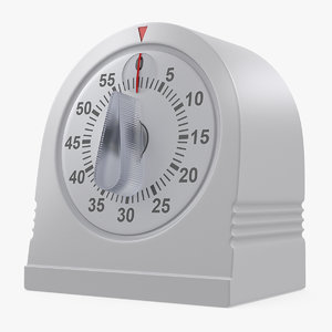 classic mechanical kitchen timer 3D model