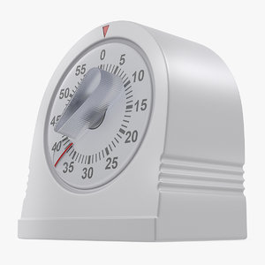 3D classic mechanical kitchen timer