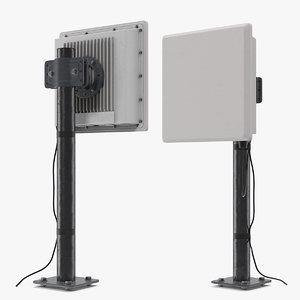 3D wireless cctv video transmitter