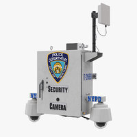 NYPD Street CCTV Surveillance Cameras
