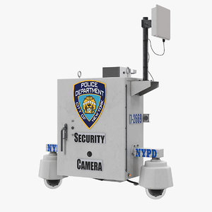 nypd street cctv surveillance 3D
