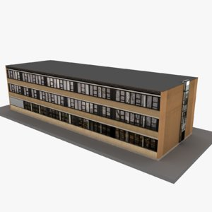 european building 37 model