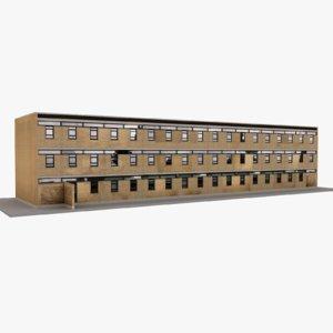 european building 40 3D model