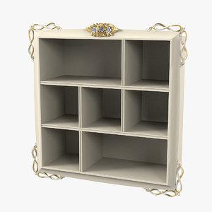 forever signorini 9014 bookcase 3D