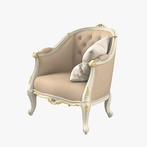 3D coco foreve 9536 armchair model