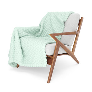 soto chair wool blanket 3D model