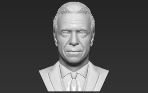 governor andrew cuomo bust 3D model