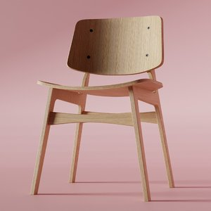 3D sborg chair model