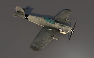ww2 fw 190 fighter aircraft model