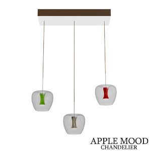 3D apple mood