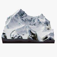 Geological Everest Mountain Range