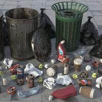 Trash Scene HD